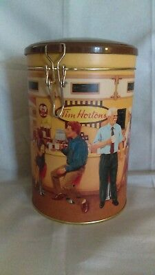 """Coffee Tin/Collector Canister, Tim Hortons First Edition """"The Gathering Place"""""""