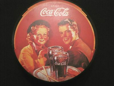 1980's Coca Cola Tin In Good Condition- Great For Collectors!
