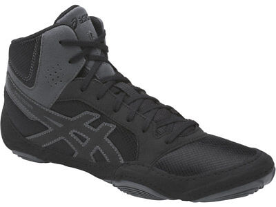 NEW Asics Boxing Wrestling Boots Shoes Snapdown 2 Black Carbon