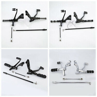 Forward Controls Kit Pegs Levers Linkages For Harley Sportster XL 883 1200 14-20
