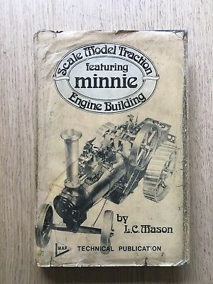 "1971 ""minnie"" 1"" Scale Model Traction Engine Live Steam By L.c.mason"