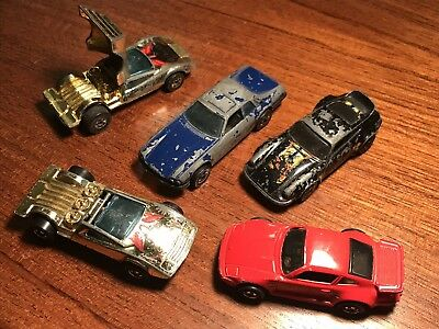 Hot Wheels Set Of 5 Cars Euro Style Assortment 1 64 Diecast Car