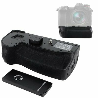 Wireless Control Vertical Battery Hand Grip Holder for Panasonic DMW-BGG9 G9 Cam