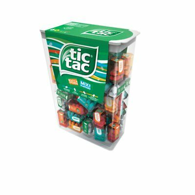 Tic Tac Lilliput Mix in Dispender Box with 60 Mini Boxes by Ferrero New