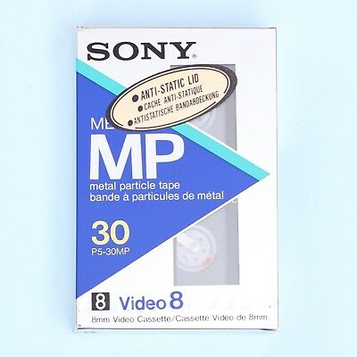 SONY Metal Particle Tape MP P5-60MP Video8 8mm Cassette Tape *NEW*