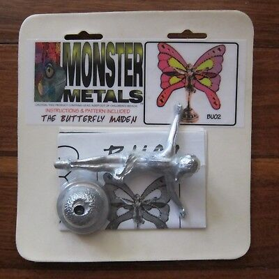 Monster Metals - The Butterfly Maiden Metal Figure New & Sealed