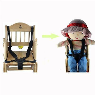 Baby 5 Point Harness Safe Belt Seat Belts For Stroller High Chair Car Strap OO
