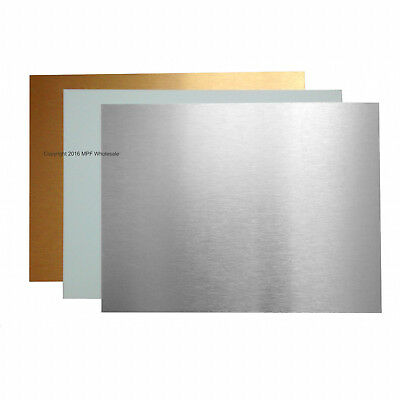 Blank Aluminium Metal Sheets Very Small Signs 40x30mm Dye Sublimation Printing
