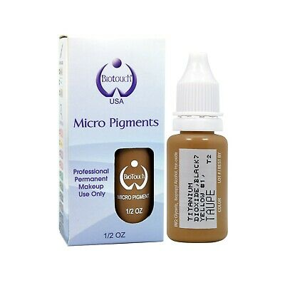 BioTouch 15ml TAUPE Cosmetic Pigment Color Tattoo Ink microblading supplies