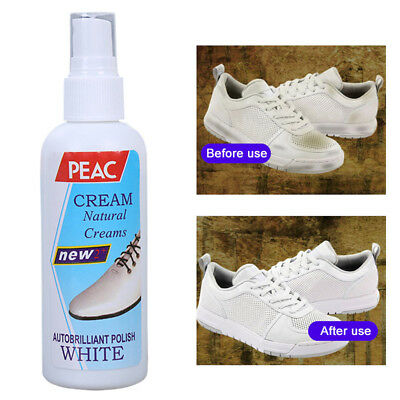 Casual Shoes White Shoe Cleaner Spray Polish Cleaning Tool Whitening Spray