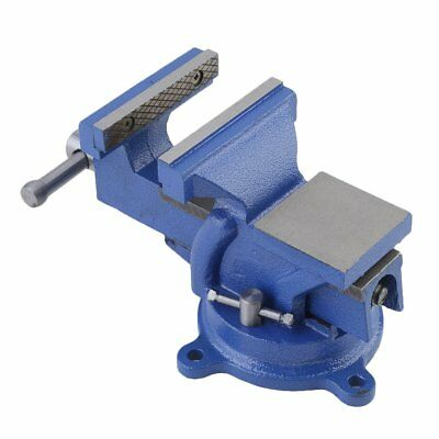 "6"" Heavy Duty Work Bench Vice Engineer Jaw Swivel Base Workshop Vise Clamp NEW"