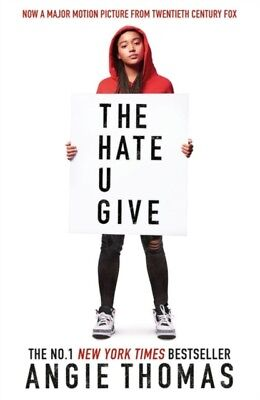 Hate U Give by Angie Thomas (PAPERBACK BOOK, 2018) *NEW* FREE P&P