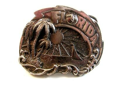1980 Florida Belt Buckle Made in USA with Serial Number