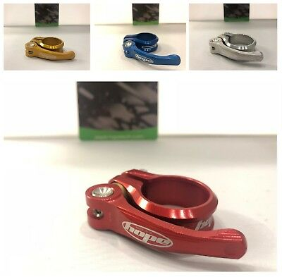Hope QR Quick Release Seatpost Collar Clamp 31.8 / 34.9/ 36.4mm Multi-Color