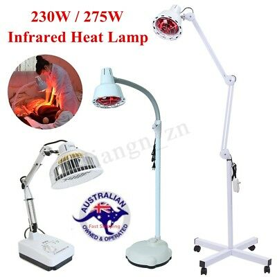 230W / 275W TDP Infrared Therapy Heat Lamp Arthritis Pain Relief Physiotherapy
