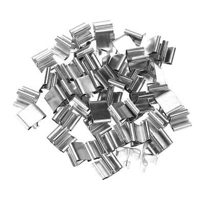 50pcs Wood Candle Wicks DIY Base Clip for Candle Making Supplies