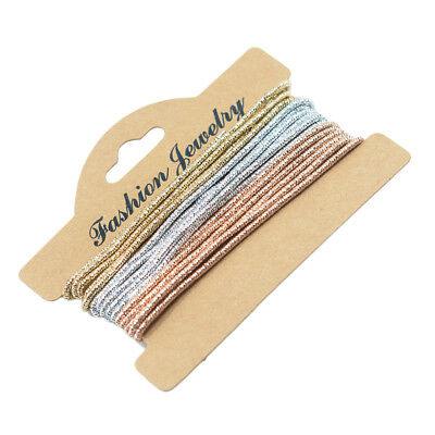 French Metal Wire Coil Bullion Purl Gimp Metal Wire with Silk Outside