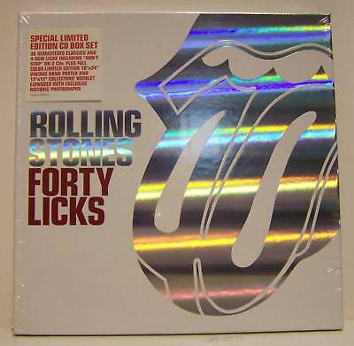 Rolling Stones - Forty Licks - Box Set Limited And New