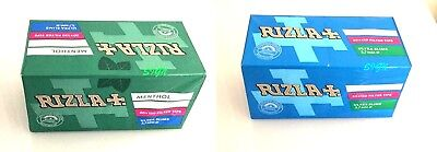 Rizla Ultra Slim Smoking Filter Tips / Menthol Filter Tips 5 & 10 Boxes Original