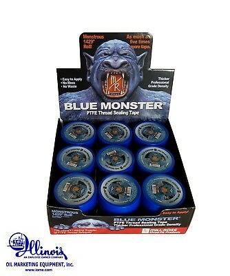 """Mill Rose/Blue Monster 70886 PTFE Pipe Thread Tape Case of 27 - 3/4"""" x 1429"""""""