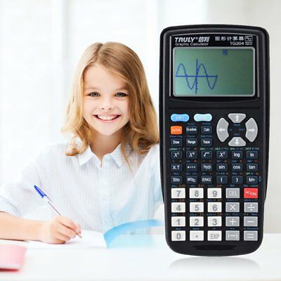 Portable LCD Solar Graphics Scientific Calculator For Office/Student teaching NI