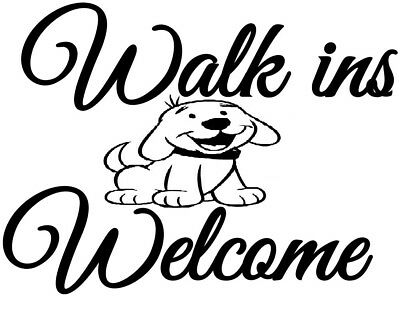 Welcome Sign Cute Dog With Bone Garden Patio Ornament Resin Statues