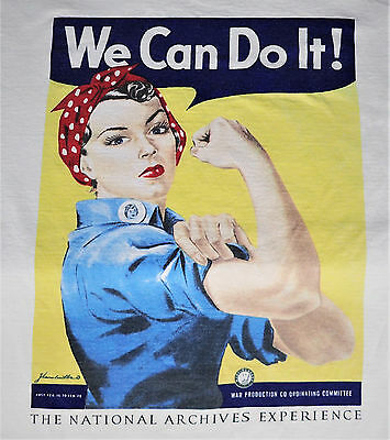 Medium Rosie the Riveter Yes We Can National Archives War Female American Histor