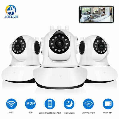 Wireless 720P Pan/Tilt Security IP Camera Network CCTV Night Vision Wifi Webcam