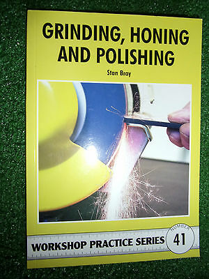 #41 Grinding Honing Polishing Home Workshop PRACTICE SERIES MANUAL modeling