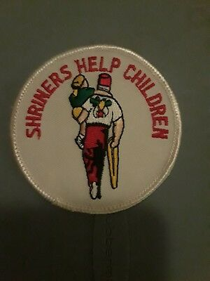 Shriners Hospital Patch. Shriners Help Children New 3""