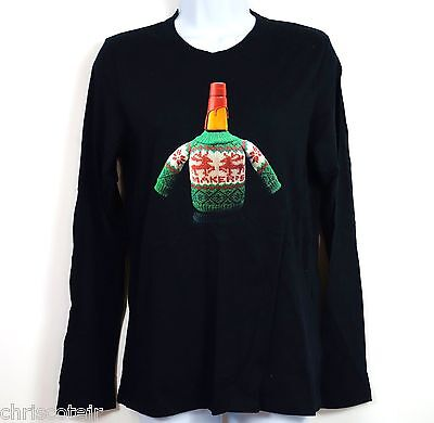 Maker's Mark It's Going To Get UGLY CHRISTMAS Sweater T SHIRT Women's LARGE