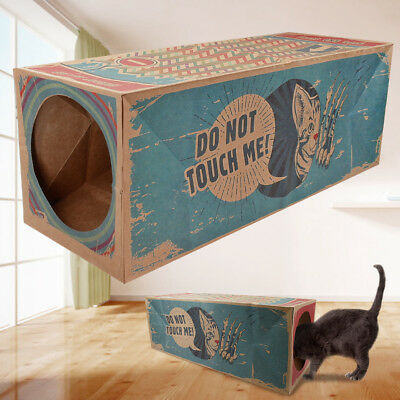 Paper Cat House Cat Tunnel Fun Interactive Cat Toys Hiding Sneaking Watching Toy