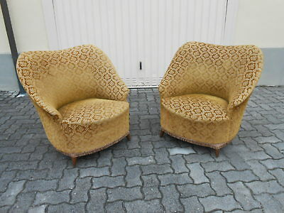 211) Couple Armchairs Modern Antiques Design Vintage Home And Garden 50 Years