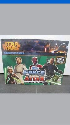 Topps Star Wars Force Attax Adventskalender OVP /Neu /50 Karten / Limitiert
