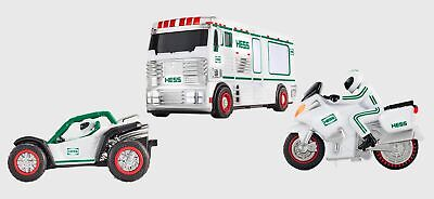 Hess 2018 Holiday Truck | RV with ATV and Motorbike | Brand New Sealed