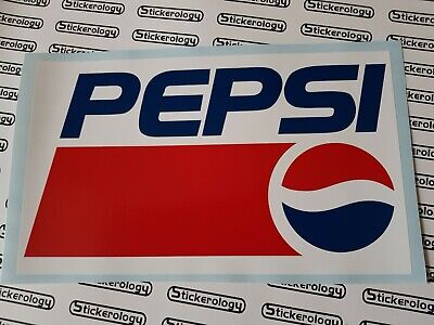 2 X Pepsi Stickers Signs