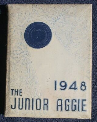 """1948 """"The Junior Aggie"""" annual yearbook Texas A&M Agricultural College"""