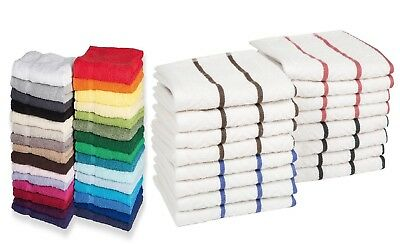 100% Cotton Pack of 3x 5x 10x Kitchen Tea Towel Dishcloth 550 gsm Hotel Quality