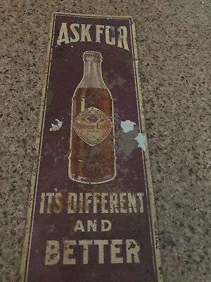 Queen Cola Sign (Hard to find)