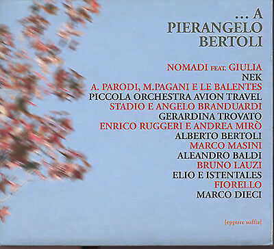 TRIBUTO A Pierangelo Bertoli CD
