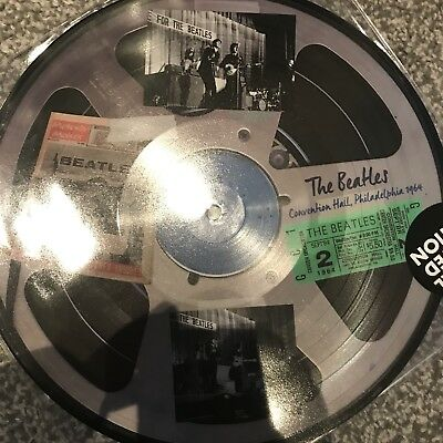 "BEATLES ""Live In Philadelphia 1964"" 10"" LTD EDT PICTURE DISC VINYL - NEW"