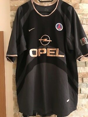 PSG 2001 2002 Third Jersey Shirt XL Men Adults Paris Saint Germain Nike Opel
