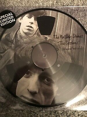 "ROLLING STONES ""The Sessions Vol. 4 - 10"" Picture Disc Vinyl -  NEW/ SEALED"