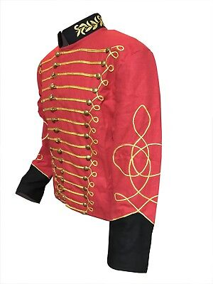 Gilt Braid Red Cavalry Tunic-Jacket  size : 40