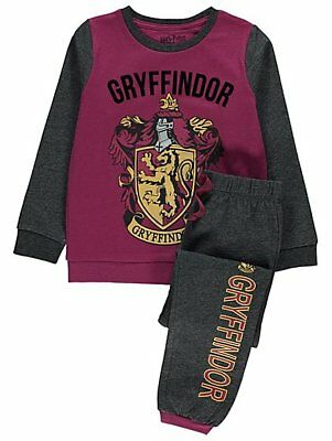 Boys & Girls  Harry Potter Gryffindor house 100% Cotton Pyjamas 4-13 Years