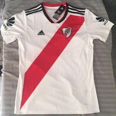 River Plate Jersey Shirt Size Large Argentina ⚪️🔴🇦🇷