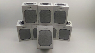 Apple HomePod Portable Smart Speaker Space Gray MQHW2LL/A Voice Enabled Siri