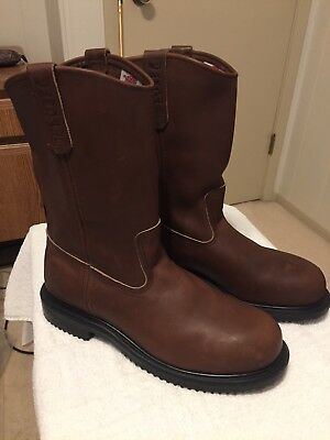 1917831b196 RED WING PECOS Steel Toe Pull-on Work Boots Size 11 D Men's