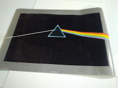 AUTOGRAPHED  Vintage  Rare  1973  Pink Floyd   Dark Side Of The Moon  Poster