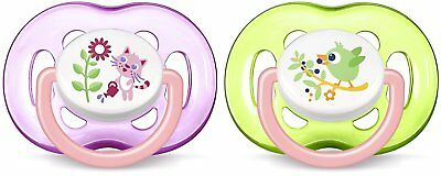 Philips SCF186/25 Avent Freeflow Dummies Soothers 18 Months Plus (Pack Of 2)